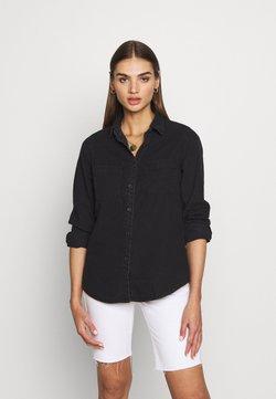 Cotton On Curve CURVE LONGLINE Skjorte washed black