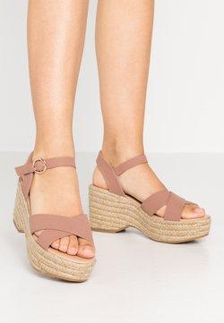 Dorothy Perkins - RUMBA MID HEIGHT EASY FLATFORM  - High heeled sandals - pink