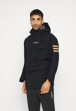 adidas Performance - XPLORIC TECHNICAL RAIN.RDY HIKING JACKET - Outdoorjacke - black/black