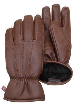 Pearlwood - Fingerhandschuh - brandy