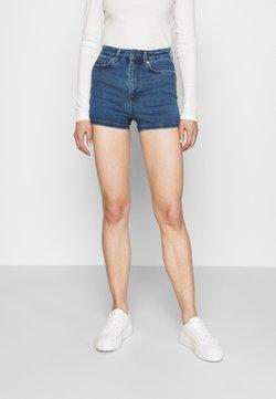 NA-KD - PAMELA REIF X ZALANDO TIE BACK DETAIL - Shorts - blue
