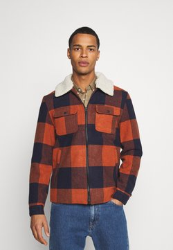 Only & Sons - ONSROSS NEW CHECK JACKET - Übergangsjacke - bombay brown