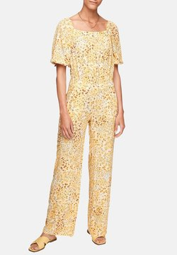s.Oliver - Jumpsuit - sunlight yellow aop