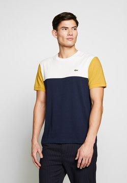 Lacoste - Print T-shirt - dark blue