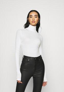 Monki - ELIN  - Langærmede T-shirts - white