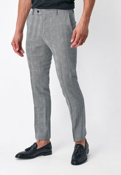 Next - SLIM FIT - Anzughose - grey