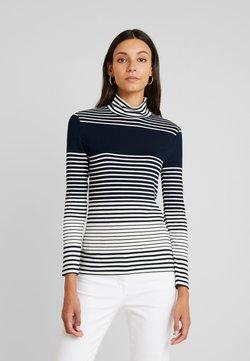 Esprit Collection - STRIPED - Langarmshirt - navy