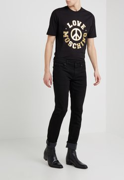 7 for all mankind - RONNIE LUXE PERFORMANCE - Jeans slim fit - rinse black