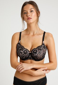 Pour Moi - OPULENCE UNDERWIRED BRA - Bygel-bh - black/pink