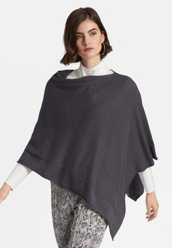 PETER HAHN - PONCHO  - Cape - grey