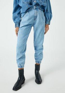 PULL&BEAR - Relaxed fit -farkut - blue-grey