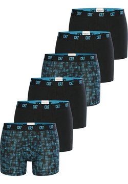 Cristiano Ronaldo CR7 - CRISTIANO RONALDO FASHION 6-PACK - Panties - blau schwarz