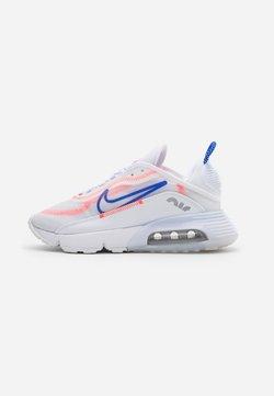 Nike Sportswear - AIR MAX 2090 - Sneakers - white/racer blue/flash crimson/metallic silver