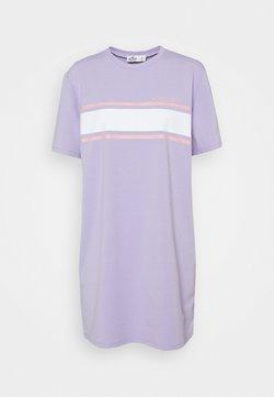 Hollister Co. - CHEST STRIPE DRESS - Jersey dress - lavender