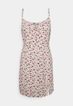 Hollister Co. - BARE DRESS - Freizeitkleid - white