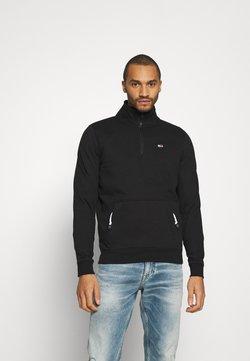 Tommy Jeans - DETAIL MOCK NECK - Sweatshirt - black