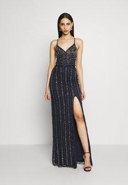 Lace & Beads Tall - MUNA MAXI TALL - Festklänning - navy