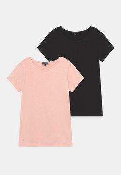 South Beach - 2 PACK - T-shirt basic - black/pink