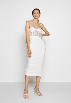 LEXI - KIRBY DRESS - Juhlamekko - white