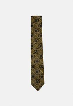 Versace - Cravatta - nero/oro
