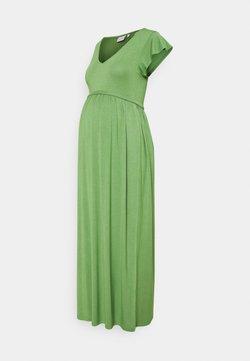 MAMALICIOUS - MLKAYLY DRESS MAXI  - Maxikleid - turf green
