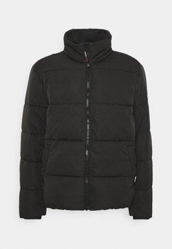Tommy Jeans - SHORT CASUAL PUFFER  - Winterjas - black