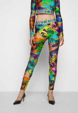 Versace Jeans Couture - Leggings - Trousers - multi-coloured