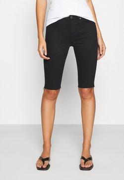 Selected Femme - SLFIDA - Jeansshort - black