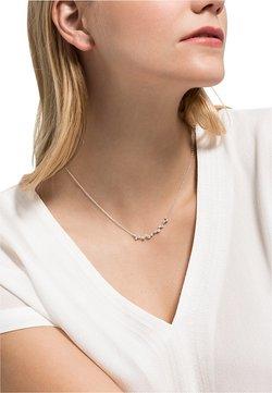 FAVS - DAMEN-KETTE 925ER SILBER 1 ZIRKONIA - Halskette - silber