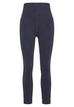 Cotton On Body - CROCHET SEAMFREE 7/8 - Tights - washed navy