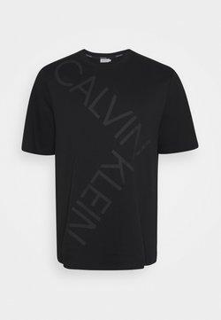 Calvin Klein - BOLD LOGO - T-shirt imprimé - black