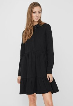 Vero Moda - Denim dress - black