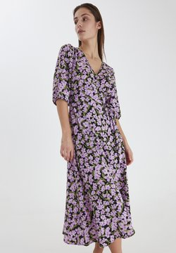 ICHI - Vestido ligero - violet tulle print