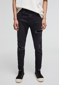 PULL&BEAR - Slim fit jeans - black