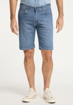 Pioneer Authentic Jeans - REGULAR FIT FINN - Jeans Shorts - stone used