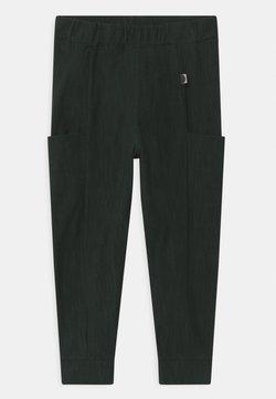 Papu - UNISEX - Broek - black/school green