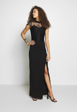 SISTA GLAM PETITE - AMIE - Vestido de fiesta - black