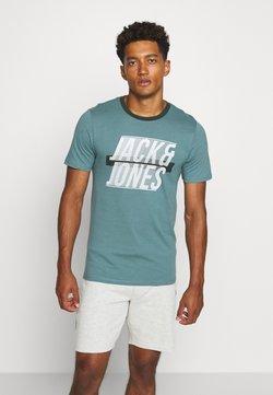 Jack & Jones - JCOLINE TEE CREW  NECK - Printtipaita - north atlantic