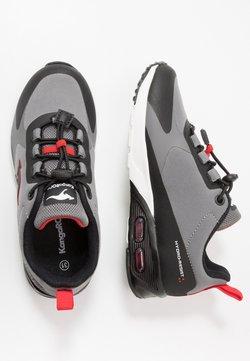 KangaROOS - KX-HYDRO - Sneakers laag - jet black/fiery red