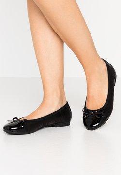 Jana - Klassischer  Ballerina - black