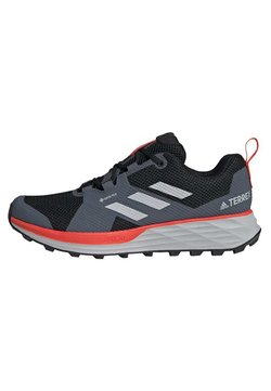 adidas Performance - TERREX TWO GORE-TEX TRAIL RUNNING SHOES - Trail hardloopschoenen - black