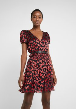 MICHAEL Michael Kors - BOLD BOW MIX DRESS - Cocktail dress / Party dress - scarlet