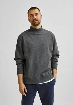 Selected Homme - Sweter - antracit