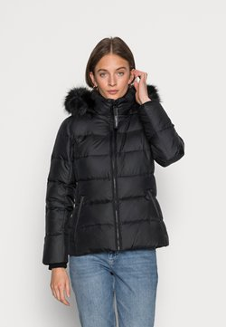 Calvin Klein - ESSENTIAL JACKET - Doudoune - black