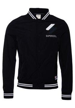 Superdry - Varsity  - Bomberjacke - black