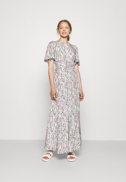 byTiMo - DELICATE MAXI DRESS - Maxikleid - blue field