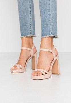 Topshop - SIENNA PLATFORM - High heeled sandals - pink