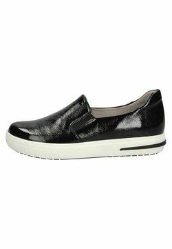 Caprice - Sneaker low - black naplak