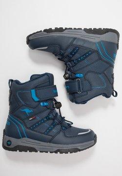KangaROOS - K-NOVICE RTX - Schnürstiefelette - dark navy/brilliant blue