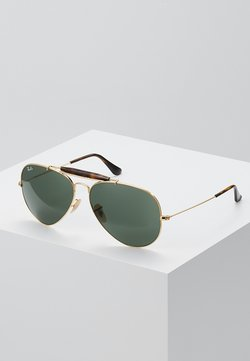 Ray-Ban - OUTDOORSMAN II - Aurinkolasit - gold/dark green